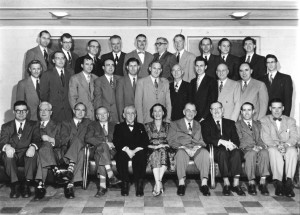 Chelan County Bar Assoc. 1953 – Bernice is the only woman